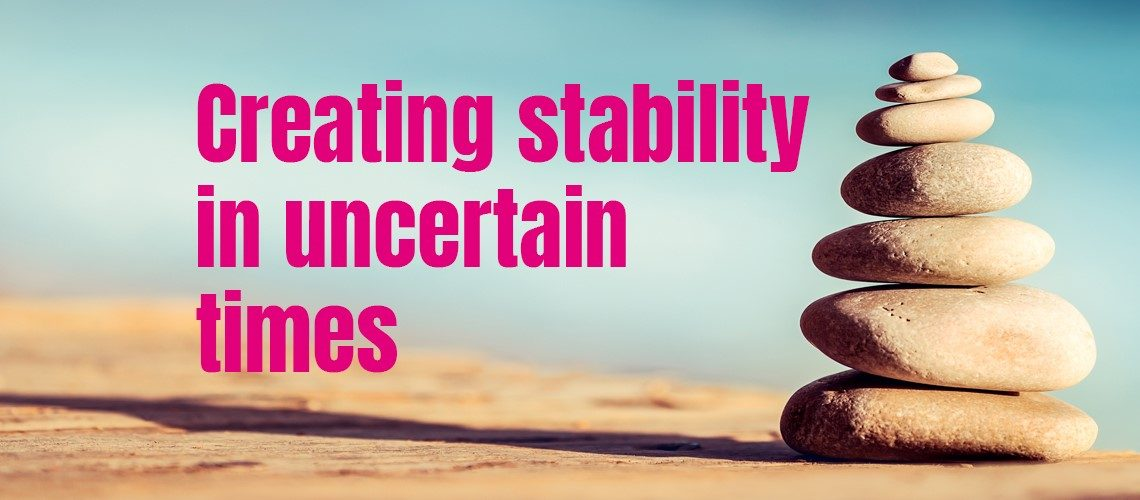 Creating stability